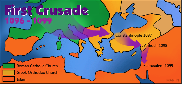 Crusades Map